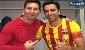 تیپ یکی از ستاره های خوش تیپ فوتبال جهان/ کت و شلوار با کتونی!