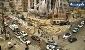 محل انفجار در شهران ریزش کرد