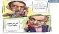 وقتی نماینده عضو جبهه پایداری خودش را احمدی نژاد جا می زند/کاریکاتور