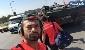 سلفی رضاییان با تانک ارتش ترکیه