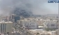 آتش سوزی بزرگ یک هتل در مکه/ تاکنون قربانی نداشته