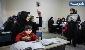 تجمع  آموزشدهندگان نهضت سوادآموزی مقابل مجلس