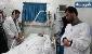 علی مرادی در بیمارستان حاضر شد/بهادر را با هلی کوپتر به ساری می برند