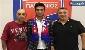 تیپ جالب مسعود شجاعی در فرودگاه آتن