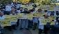 عکس/تجمع جامعه آزمایشگاهیان هم اکنون مقابل وزارت بهداشت